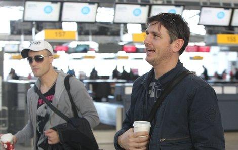 Lumír Olšovský doprovázel na letiště nejkrásnějšího gaye Martina Gogu a vyvolal tak spekulace, jestli nebude rozvod.