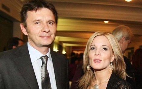 Barbora Šťastná s manželem Janem.