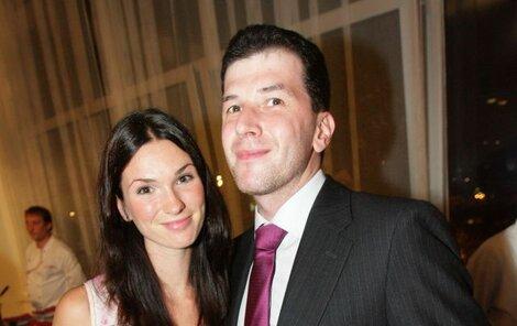 Jakub s partnerkou Markétou.