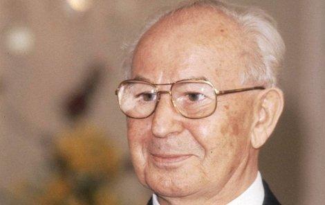 Syn Gustava Husaka 78 Vladimir 70 Promluvil Vyvraci Rozsirenou