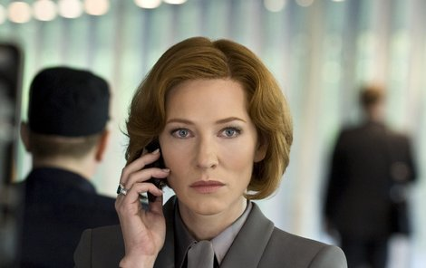 Cate Blanchett jako špionka Marissa  v akčním thrilleru Hanna