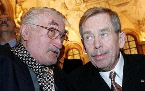 Pavel Landovský a Václav Havel si prý užívali divokých večírků.