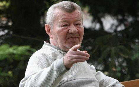 Naposledy si Václav Sloup povídal s deníkem Aha! přesně před rokem. Od té doby pěkných pár kilo přibral.