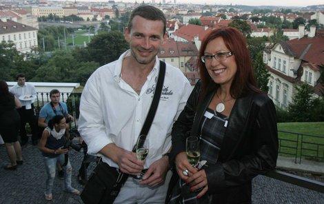 Cajthamlová s ex-kolegou Havlíčkem.