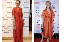 To je souboj: Menzelová a Streep ve stejných šatech. Komu sluší víc?