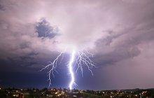 Do Česka přišly jarní bouřky: Prvních 10 blesků!