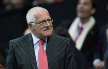 Prezident Václav Klaus (71) přiznává: Neznám ani bankomat!