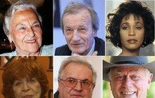 Odešli v tomto roce: 57 osobností, které nám budou chybět