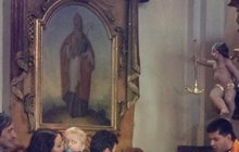 Syna Agáty Hanychové pokřtil romský farář!