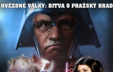 Volba prezidenta: Hvězdné války o Hrad!