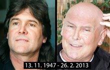 Zpěváka Boba Frídla (†65) zabila rakovina. Čtyři dny umíral vhospici…