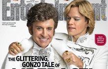 Milenci z titulní strany? Michael Douglas a Matt Damon!