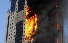 Pupkáč Gérard Depardieu nemá v Rusku štěstí: V mrakodrapu mu shořel byt!