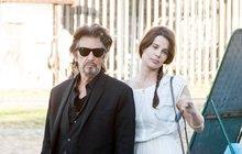 Al Pacino (72) je šťastný chlapík: Mladou přítelkyni (33) vzal do Říma!