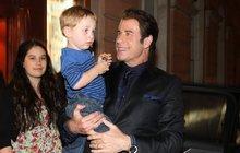 Vzorný otec John Travolta: Žádný alkohol! Věnoval se dětem…