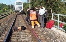 Sebevrah v Karlštejně: Podruhé ho zabil vlak!