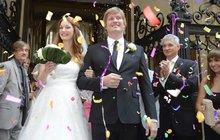 Svatba těhotné dcery Nálepkové Pepiny: Ženich musel složit tajný slib!
