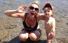 Nestárnoucí Lucie Benešová (39 let, čtyři děti): Konečně prozradila svůj recept na hubnutí!