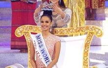 Výhružky muslimů na Miss World: Nejkrásnější žena světa je z Filipín