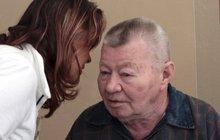 Vážně nemocný Václav Sloup (77): Musí znovu na operaci! Ta první se nezdařila...