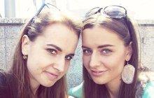 Miss Chlebovská (23) a její sestra (24): Jako dvojčata!
