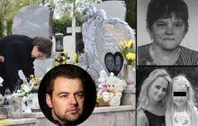 Pohřeb maminky Moniky Kramné (†36): Přišli rodiče Petra, úřadovala tam kriminálka!