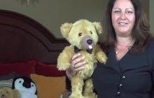 Plyšový medvěd s vibrátorem v čenichu: Bude vás milovat...