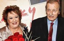 Ta sedla! O italském manželství Bohdalové a Brzobohatého!