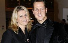 Schumacherova žena Corina: Lékaři jí řekli zprávu, kterou oplakala...