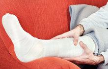 Co dělat, když se zraníte?