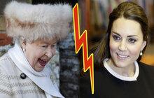 Kate změnila názor na jméno své holčičky a královna je na mrtvici!