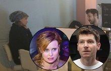 Švehlík (42) a exmanželka Schneiderová (41): Ostrá hádka v kavárně! Kvůli dcerce?!