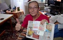 Důchodkyně Eva (64) naletěla podvodnici: Nepomohl rozsudek, ale článek v Aha!