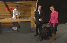 Trapas v TV Barrandov: Host se vymočil uprostřed studia!