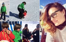 Konečně zase šťastná: Alena Šeredová ukázala své andílky a úsměv od ucha k uchu!