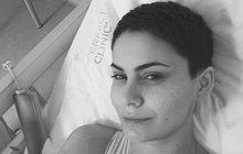 Utrpení Vlaďky Erbové (34) nekončí: Další operace. Tentokrát v celkové narkóze!