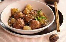 Skvělá pochoutka k obědu: Masové kuličky v houbové omáčce podle Evy Gálové