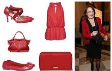 Noste červenou, budete šik a sexy! Inspirace na nákup jarních šatů, sak i doplňků.