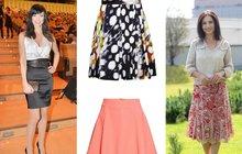 Tipy na jarní nákupy a triky pro každou postavu: Noste sukně, budete vypadat více žensky!