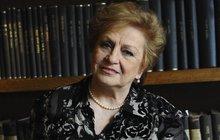 Vážně nemocná Věra Čáslavská (73): Musí znovu do špitálu! Rakovina opět udeřila?