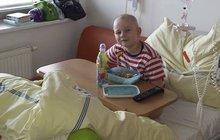 """Adámek (7) z Poděbrad má leukemii: """"Maminko, nebreč! Uzdravím se..."""""""