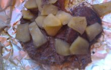 Také játra jsou skvělá na grilu! Třeba s jablky podle Veroniky Poláčkové