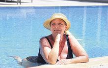 Jaroslava Obermaierová (69) šla do plavek!