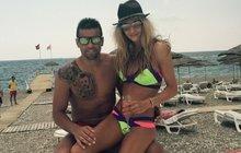 Milan Baroš s krásnou manželkou Terezou: Návrat do Turecka!