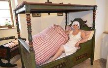 Originální výstava: Lehněte si, ať nám nevynesete spaní...