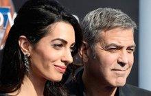 George Clooney: Manželka se musela obětovat!