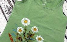Oživte si staré oblečení podle Jany (52) z Hradce Králové: Tohle tričko není nuda!