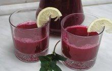Osvěžující a zdravý nápoj? Tím je limonáda z červené řepy podle Boženy Peřinové!