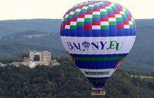 Největší horkovzdušný balon ve střední Evropě: Vynesl do nebe 26 lidí!