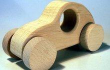Dřevěná hračka je hezká:  Bez nebezpečných ftalátů a ČESKÁ!